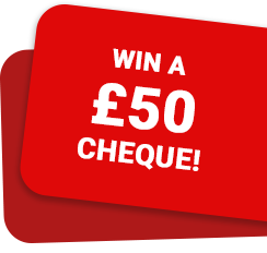 WIN a cheque!